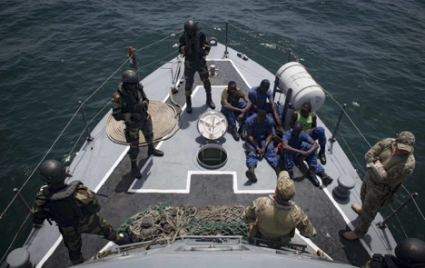 The US Navy Working Maritime Security with African Partners - Second